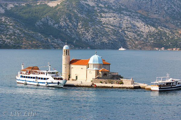 The Church of Our Lady of the Rock, Bay of Kotor, Montenegro