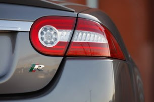 2011 Jaguar XKR Convertible taillight