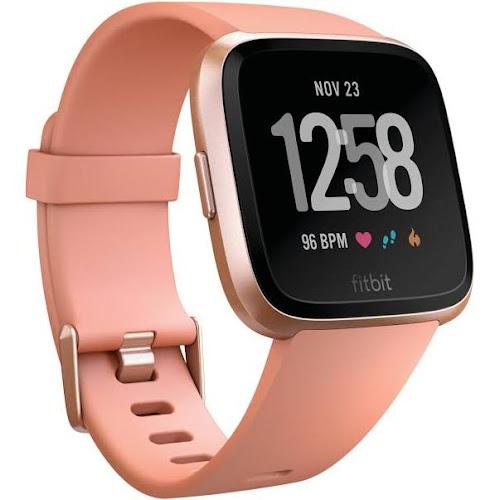 Fitbit Versa Activity Tracker Rose Gold Aluminum