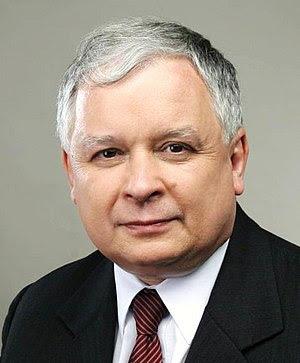 {{pl|Prezydent Rzeczpospolitej Polski Lech Kac...