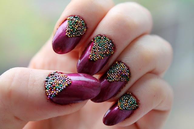 Caviar nail art (2)