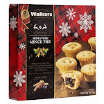 Walkers Mini Mincemeat Tarts-7.9 Oz By British Food Supplies