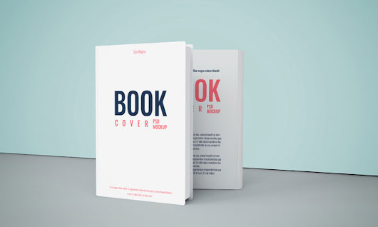 Free PSD Book Cover Mockup To Showcase Book Cover Designs - Mockup Planet