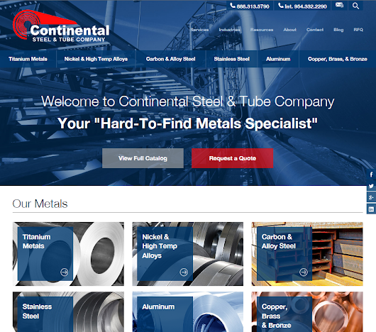 Big News from Continental Steel & Tube