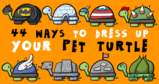 44 Adorable Ways to Dress Up a Turtle for Halloween - Rock, Paper, Cynic