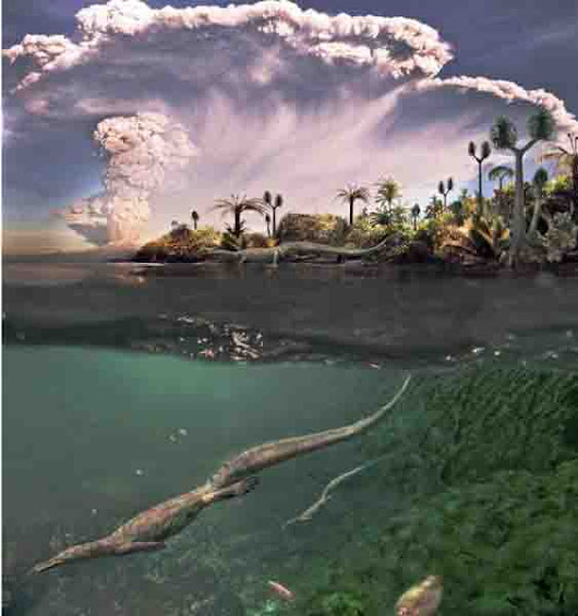 Oldest known aquatic reptiles probably spent time on land | Geology Page