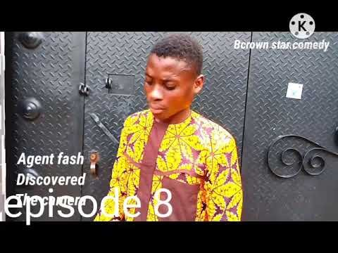 COMEDY VIDEO:-BCROWNSTAR -Agent fash discovered the camera in Lagos State
