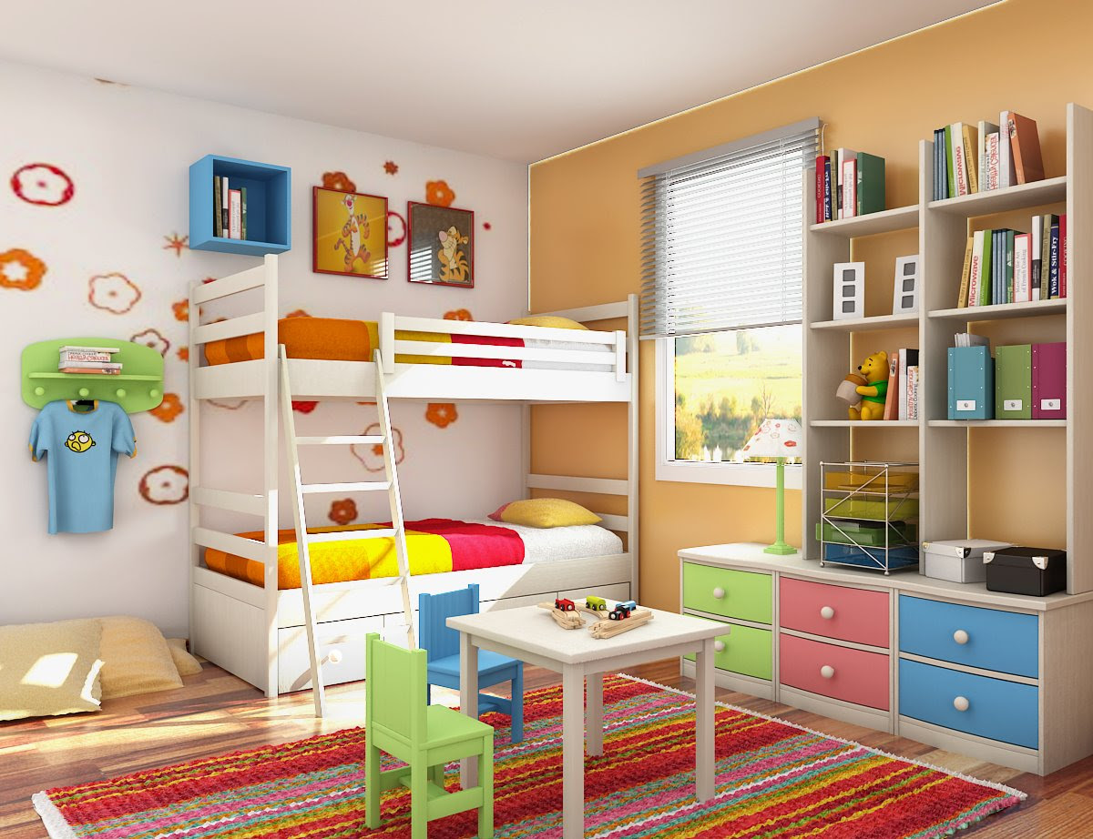 5 Ways to Spruce Up Your Kids Bedroom -