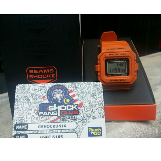 LIMITED EDITION CASIO G-SHOCK G-5500BE-4JR BEAMS 30th ANNIVERSARY