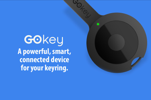 GOkey: Battery-Memory-Remote. All on your keyring