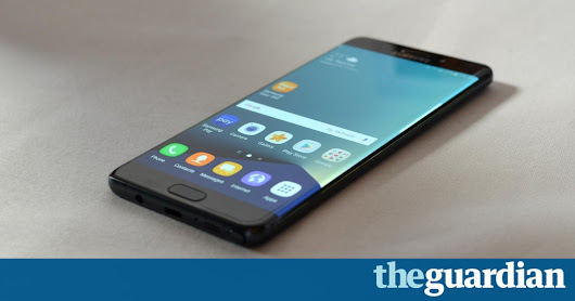 Samsung unveils Galaxy Note 7 phablet you can unlock with your eyes | Technology | The Guardian