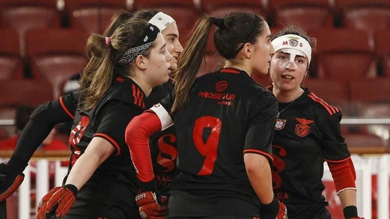 Liga Europeia feminina: Benfica goleia Coutras nos 'quartos'