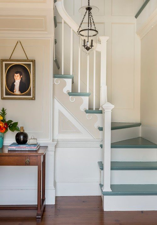 Painted Staircase Ideas and Inspiration - Town & Country Living