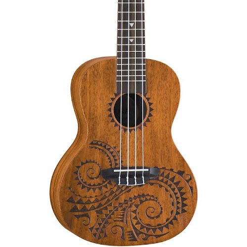 f9a349e39d Luna Guitars Tattoo Mahogany Concert Ukulele - Luna Guitars Folk &  Traditional Stringed Instruments - - UKE TC MAH