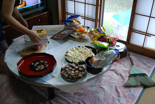preparing for guests