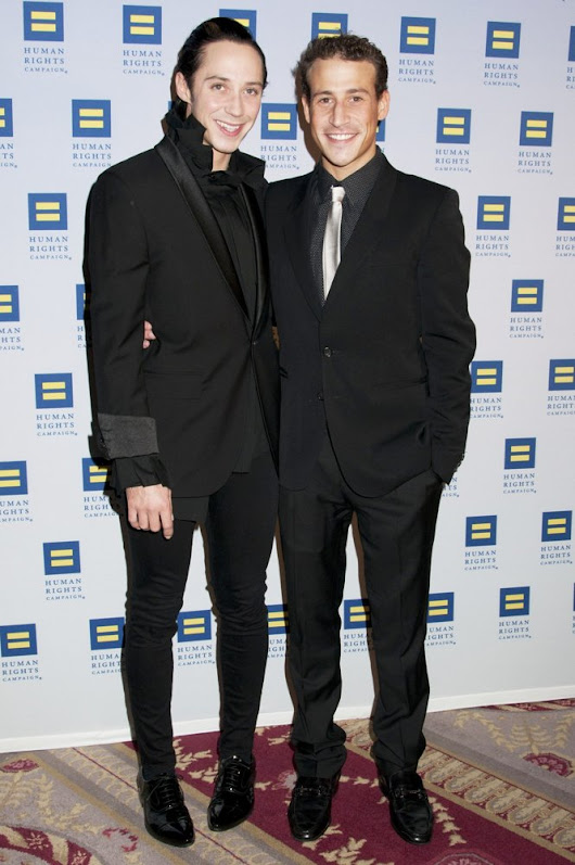 Johnny Weir's Estranged Husband Sues Over Rape and Herpes Allegations