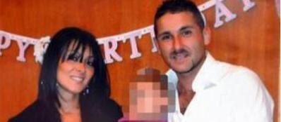 Melania Rea con il marito Salvatore Parolisi (Ansa)