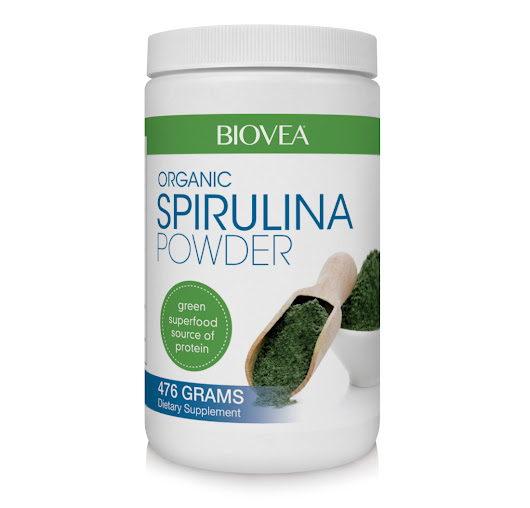 SPIRULINA POWDER (Organic) (16oz) 476g