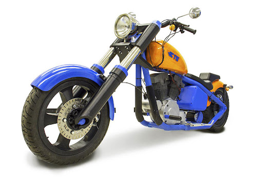 Functional #3DPrinted Motorcycle #3DThursday #3DPrinting
