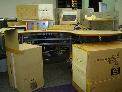 Cardboard workstation
