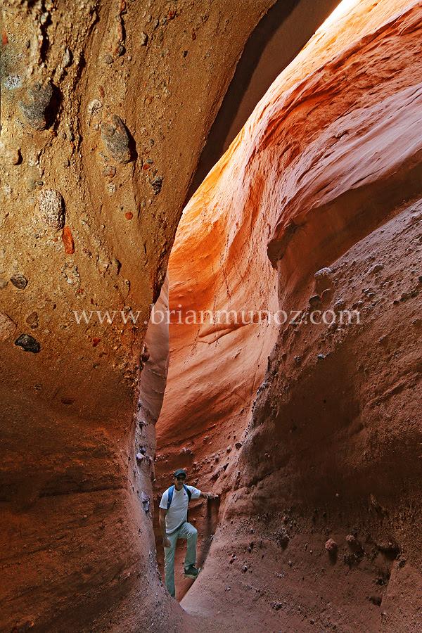 Slot canyon borrego springs