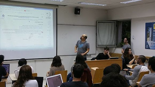 Tel Aviv's new university course is dedicated to contributing to Wikipedia «  Wikimedia blog