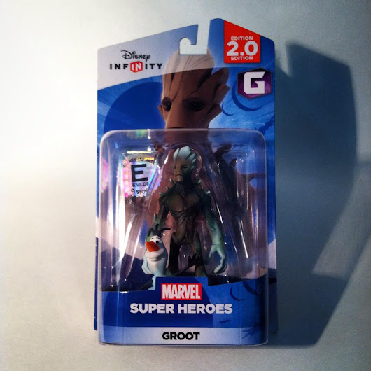 A Look at the Commons 4 Kids 'Frost Groot' Custom Disney Infinity Figure by Evilos