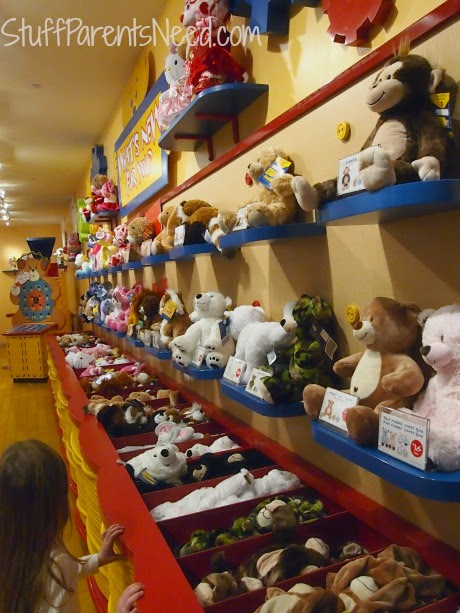 The Build-A-Bear Experience (Giveaway!!!) - Stuff Parents Need