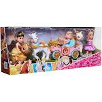 Disney Princess Royal Carriage, Doll & Pony Exclusive Doll Gift Set [Belle, Cinderella & Rapunzel]