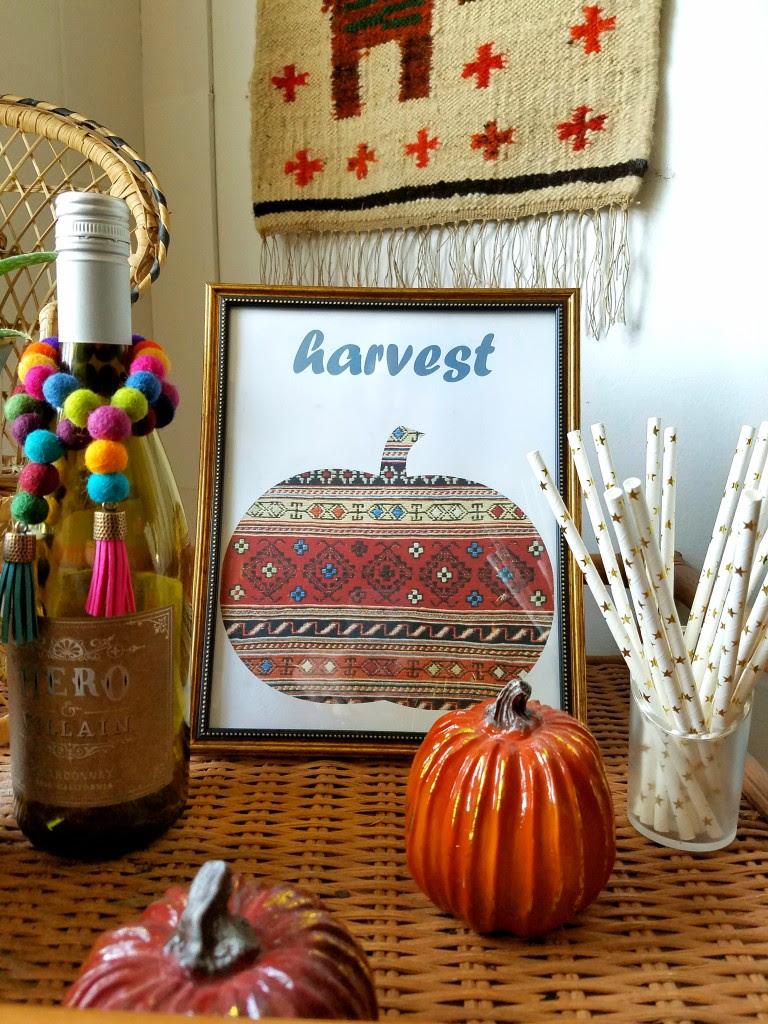 Autumn-decor-free-vintage-kilim-art-print