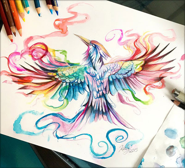 Amazing color pencil drawings 4