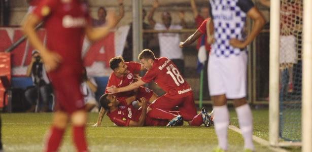 Ernando fez o gol do Inter contra o São José que colocou o Colorado na final