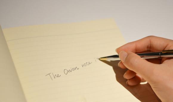 perierga.gr - Σημειωματάριο σε κάνει να κλαις κάθε φορά που γράφεις!