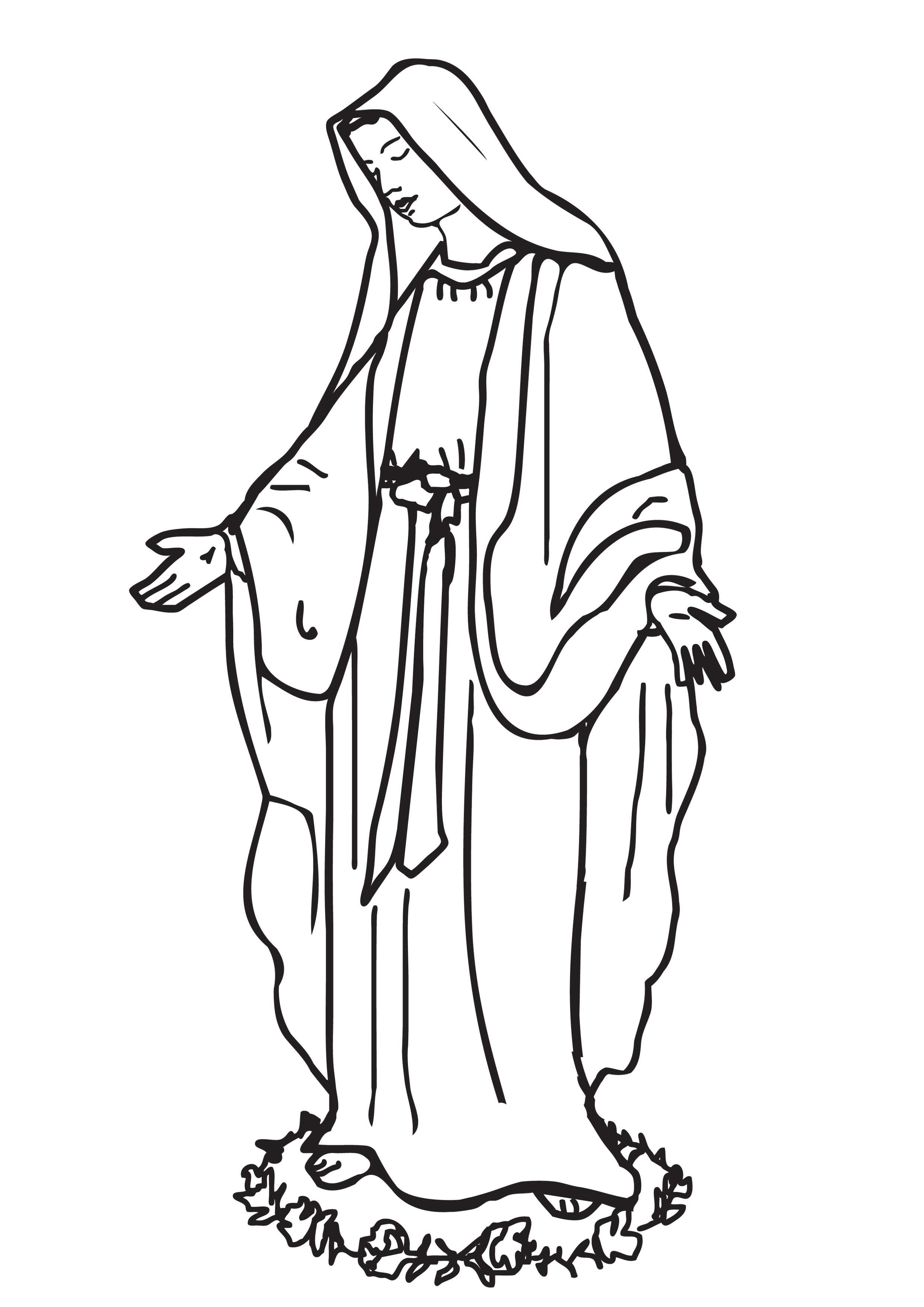 Familia Catolica Santos Hermosas Paginas Para Colorear De Coptic