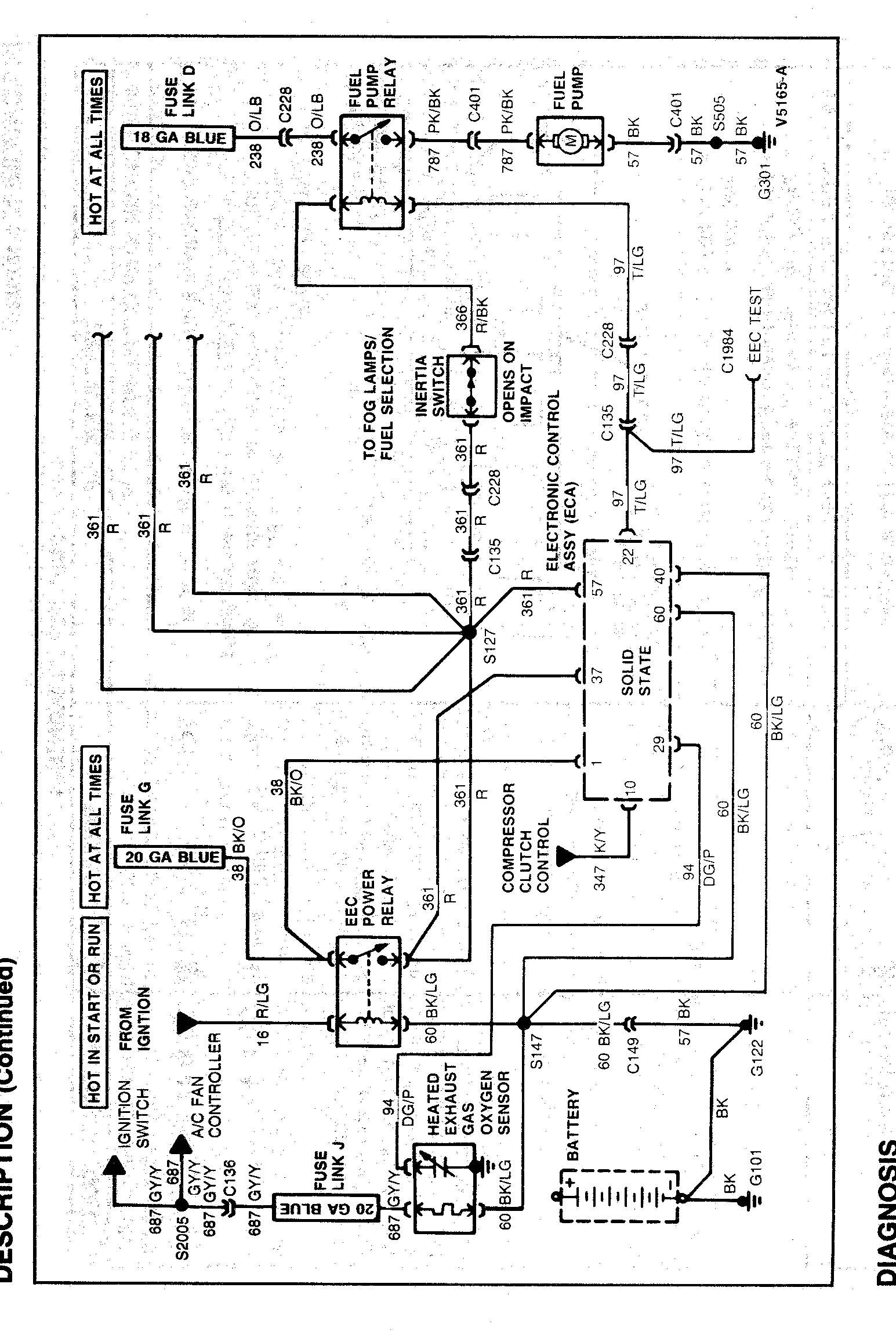 95 S10 Wiring Diagram