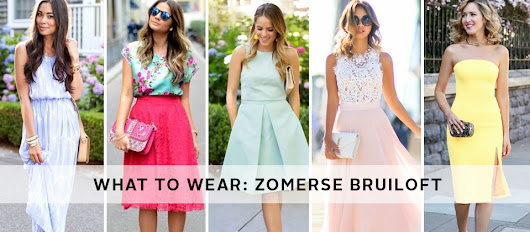 What to wear: een zomerse bruiloft | EDITED by OTTO