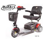 Buzzaround Extreme EX 3-Wheel Scooter
