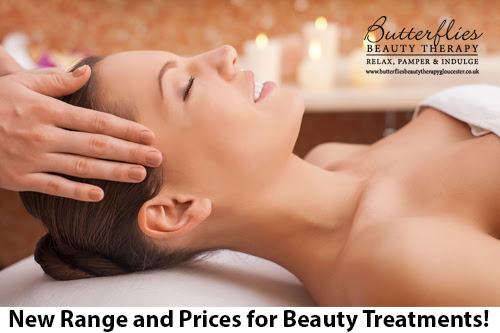 New Range and Prices for Beauty Treatments!