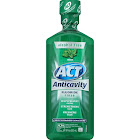 ACT Anticavity Fluoride Mouthwash, Mint - 18 fl oz bottle