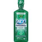 ACT Anticavity Fluoride Mouthwash, Mint - 18 fl oz bottle