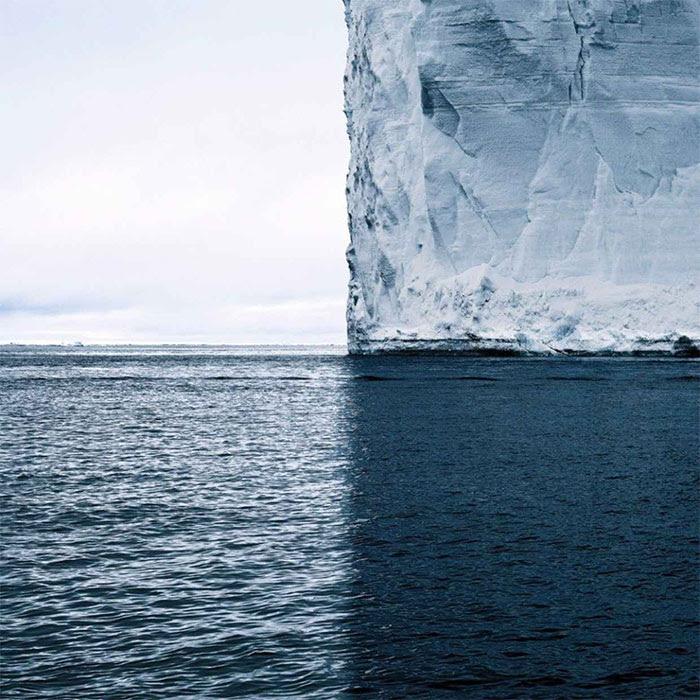 La sombra del iceberg divide el mundo en 4