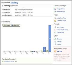 mofuse site statistics