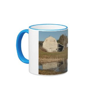Gray Barn - Reflections of Serenity zazzle_mug