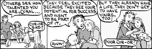 Home Spun comic strip #383