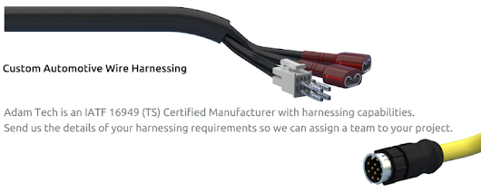Benefits of Custom cable assemblies and Wide Range of Application