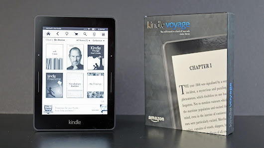 Amazon permanently discounts the Kindle Voyage