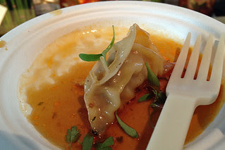 SF Chefs 2013 - Pork Kimchee Potstickers by E&O Asian Kitchen