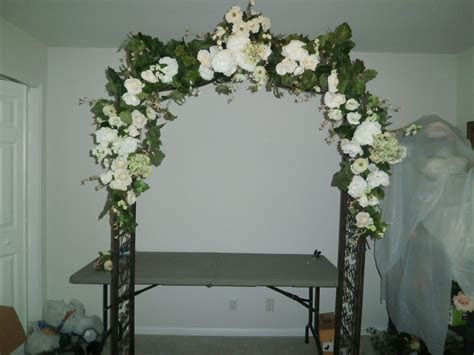 wedding arches hobby lobby garden arch  multi white