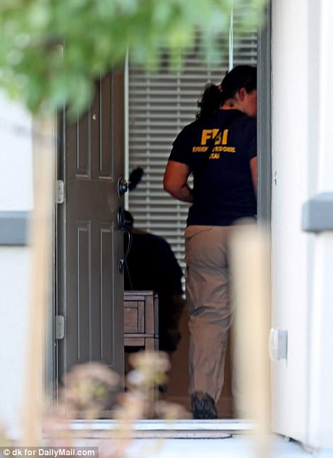 Later on Monday, the FBI, SWAT and ATF raided another home owned by Paddock, based in Reno