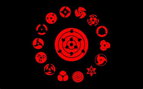 wallpaper  anime boruto mangekyo sharingan red